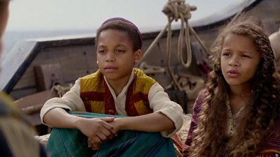 Jordan Nash in Aladdin