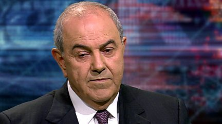 Ayad Allawi - Former Prime Minister of Iraq