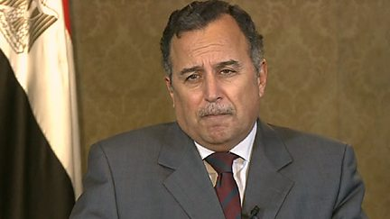 Nabil Fahmy - Foreign Minister of Egypt