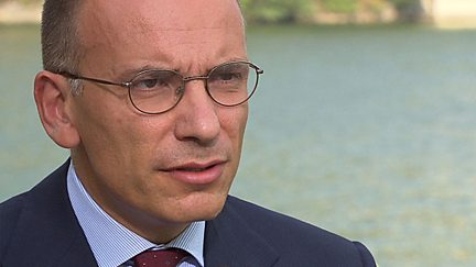 Enrico Letta  - Prime Minister of Italy