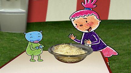 Pincidh agus Snaidhm an Spaghetti (Pinky and the Super Spaghetti Knot)