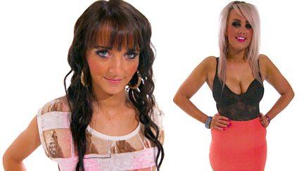 Rachel and Holly