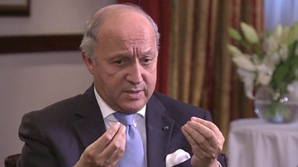 Laurent Fabius - Foreign Minister, France