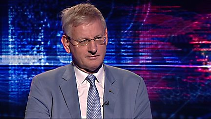 Carl Bildt - Swedish Foreign Minister