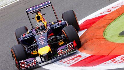 The Italian Grand Prix - Practice 1