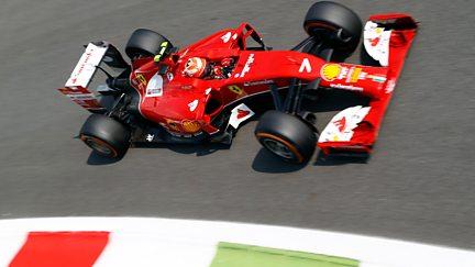 The Italian Grand Prix - Practice 2