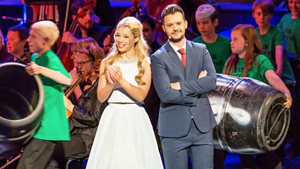 CBBC @ the Ten Pieces Prom 2015