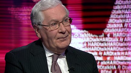 Lord Mervyn King, governor of the Bank of England, 2003-2013