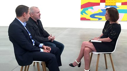 Damien Hirst and Jeff Koons Side by Side: The Interview