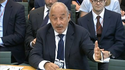 BHS Committee: Sir Philip Green - Part 1