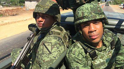 Reggie Yates in the Mexican Drug War