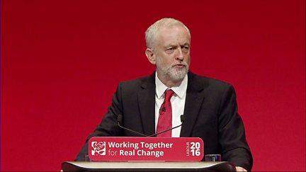 28/09/2016: Labour Leader's Speech