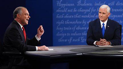 Vice Presidents' Debate live