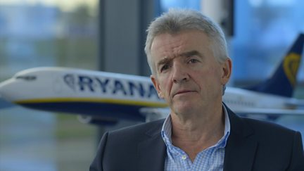 Michael O'Leary, Chief Executive Officer of Irish airline Ryanair