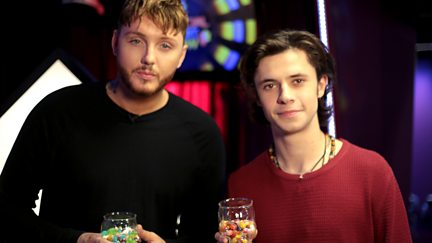 With James Arthur and Charlie Puth.