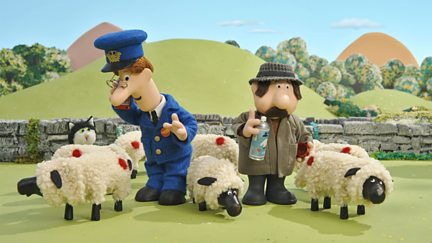 Postman Pat and the Painted Sheep