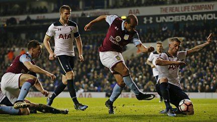 Third Round: Tottenham Hotspur v Aston Villa