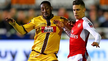 Fifth Round: Sutton United v Arsenal