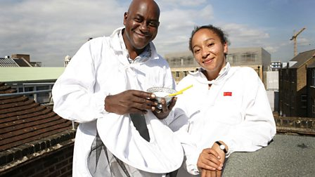 4. Ainsley Harriott on Honey and Glynn Purnell on Cheese