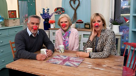 4. The Great Comic Relief Bake Off