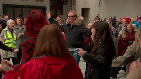 The One Show's Friday Flashmob!