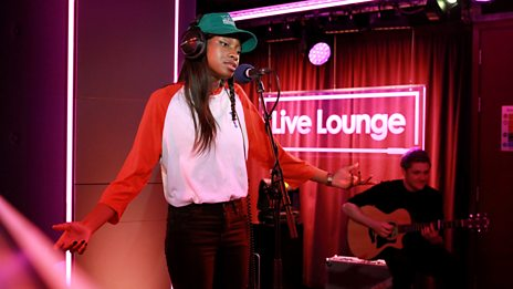 Little Simz in the 1Xtra Live Lounge