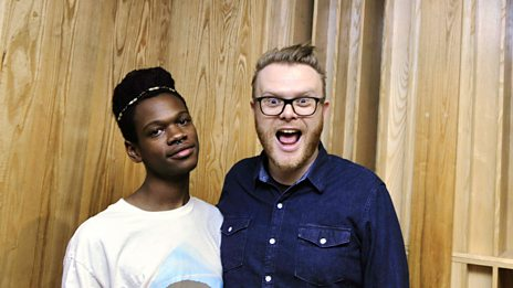 Shamir In Session For Huw Stephens