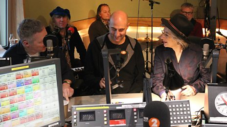 Mark Strong, Maureen Lipman, Rory Bremner & The Waterboys ask each other questions