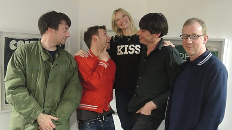 Blur are back! Jo Whiley chats to the band