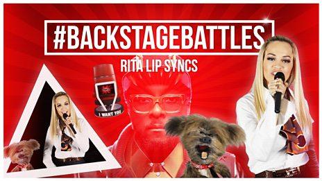 EXCLUSIVE: #BackstageBattles - Rita Ora's lip sync forfeit