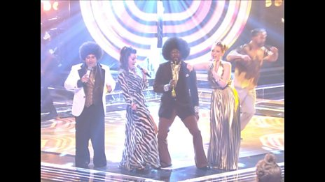 Will.i.am, Lucy, Sheena and Vikesh perform That's The Way (I Like It) / Get Down Tonight