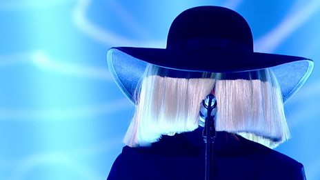 Sia performs Elastic Heart