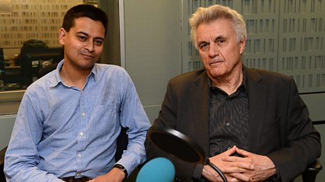 John Irving visits the Night Waves studio