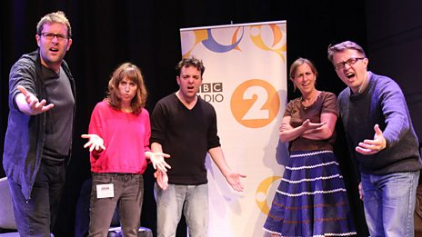 Recording at the BBC Radio Theatre
