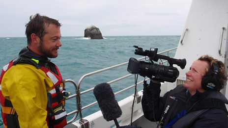 Adventurer Nick Hancock in bid to spend night on Rockall