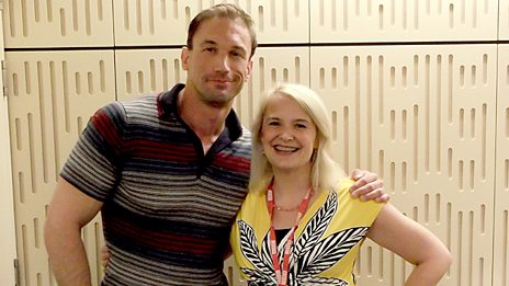 Sarah Walker and Dr Christian Jessen