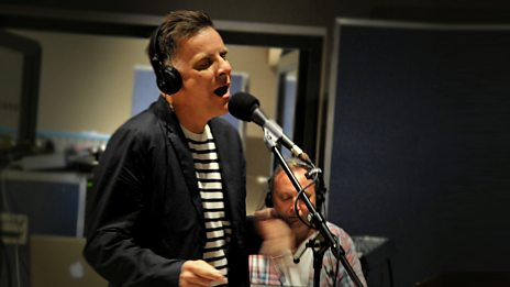 Deacon Blue live in session for Edith Bowman