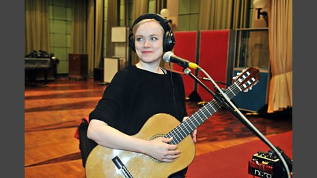 Ane Brun In Session At Maida Vale