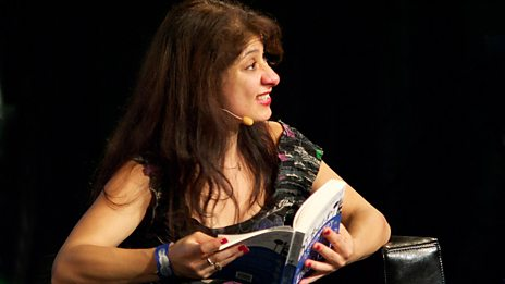 Christopher Brookmyre and Shappi Khorsandi
