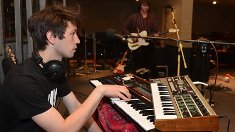 Palma Violets in Session at Maida Vale