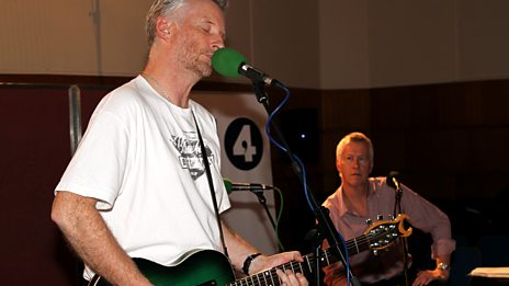 Billy Bragg at Maida Vale Studios
