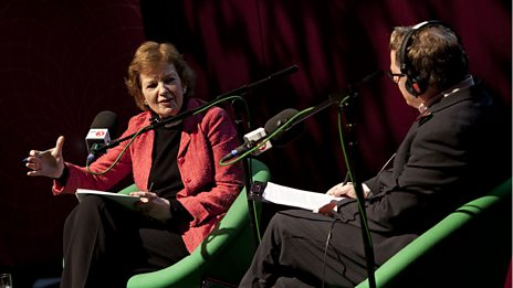 Mary Robinson - BBC Radio 3 Free Thinking Festival 2012