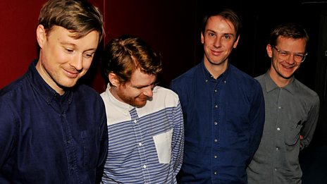 Django Django perform an exclusive session for the Vic Galloway Show