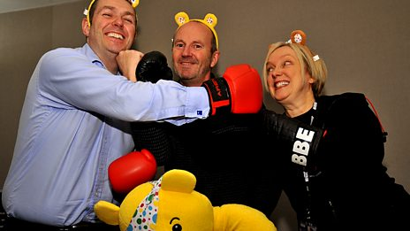 Show your spots for the Children In Need Presenters' Quiz - Gary Robertson v Janice Forsyth