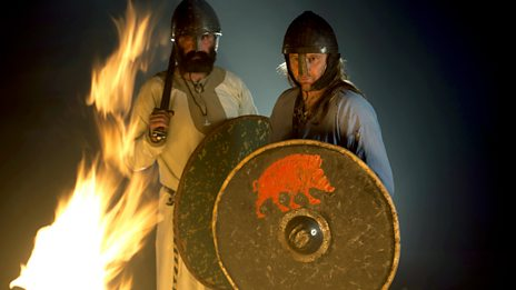 Viking and Scots warriors featured in the Last Battle of the Vikings