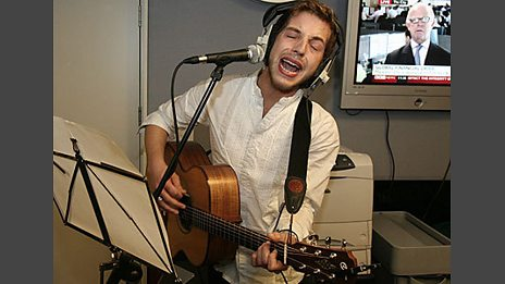 James Morrison in the Live Lounge - 19 Sep 2008