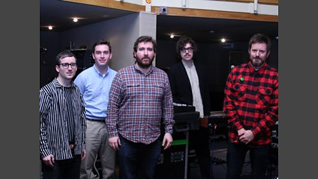 Hot Chip in the Live Lounge - 10 April 10