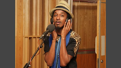 K'Naan in the Live Lounge - 19 June 2010