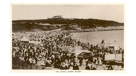 Old postcards of Barry
