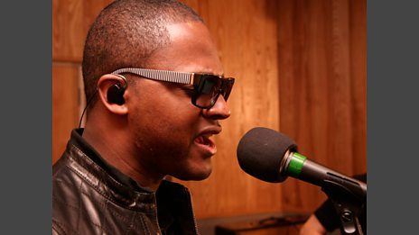 Taio Cruz in the Live Lounge - 12 Oct 2009